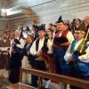 Los gaiteros de la Casa en el Día de Asturias en Castellón